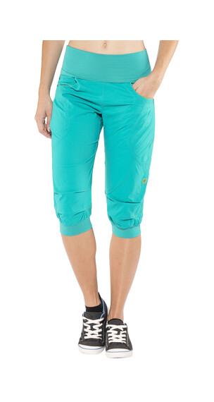 Ocun Noya korte broek Dames turquoise